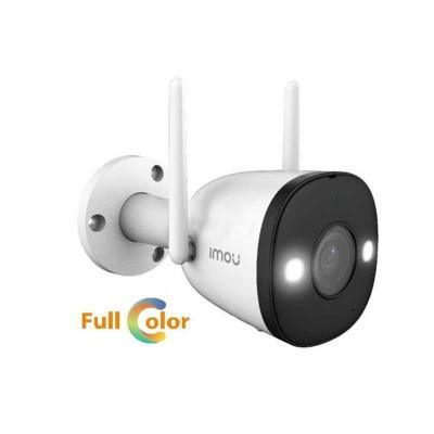 IMOU Bullet 2E  – Telecamera WIFI 2MP visione notturna a colori fino a 30 metri, human detection – Resistente ad acqua IP67 – Mo