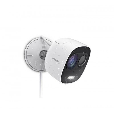 IMOU Looc – Telecamera WIFI 2MP con difesa attiva: faretto e sirena integrati – Resistente ad acqua, visione notturna – IPC-C26E